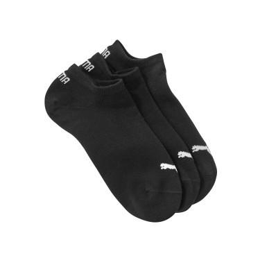 Kotníkové ponožky Sneaker Puma, sada 3 páry, černé