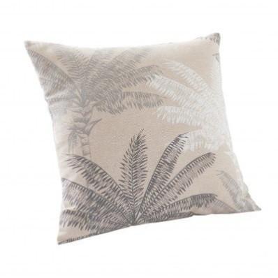 Povlak na polštářek, potisk palmových listů, sada 2 ks