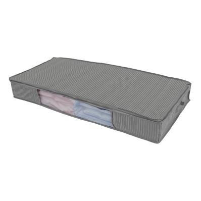 Sada 2 úložných boxů pod postel pro deku nebo přikrývku