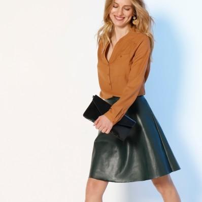 Krátká koženková (1) sukně