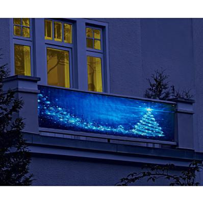 """Dekoračná balkónová fólia """"Vianočný stro"""