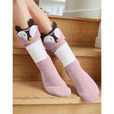 """Bačkorové ponožky """"liška"""""""
