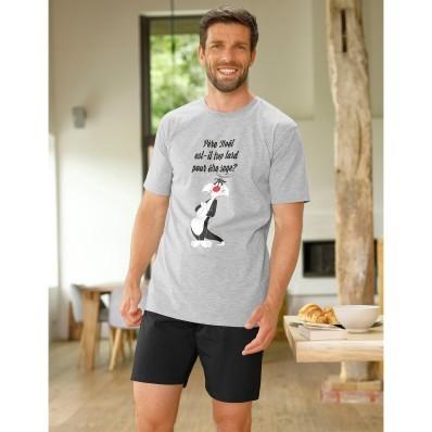 Pyžamo so šortkami a krátkymi rukávmi Looney Tunes