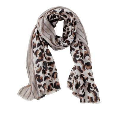 Šátek se leopardím vzorem