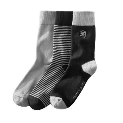 Sada 3 párov ponožiek
