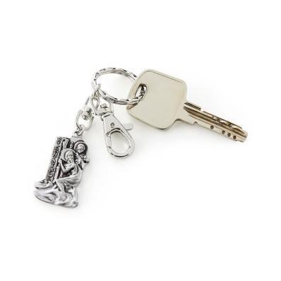 Přívěsek na klíče Svatý Kryštof