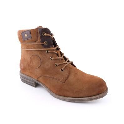 Šněrovací boty se zipem a hřejivou podšívkou