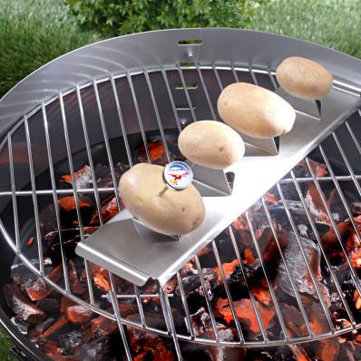Nástavec na gril na pečení brambor