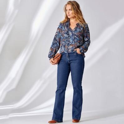 Bootcut džínsy s 5 vreckami, strečové