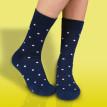 Veselé ponožky Tmavomodrý gentleman