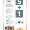 Elektrické struhadlo Fresh Salad CONCEPT ES 1000