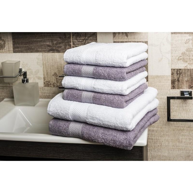 Komplet ręczników + ręcznik kąpielowy onerror=
