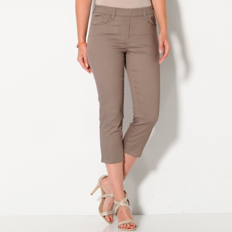 Strečové korzárska nohavice