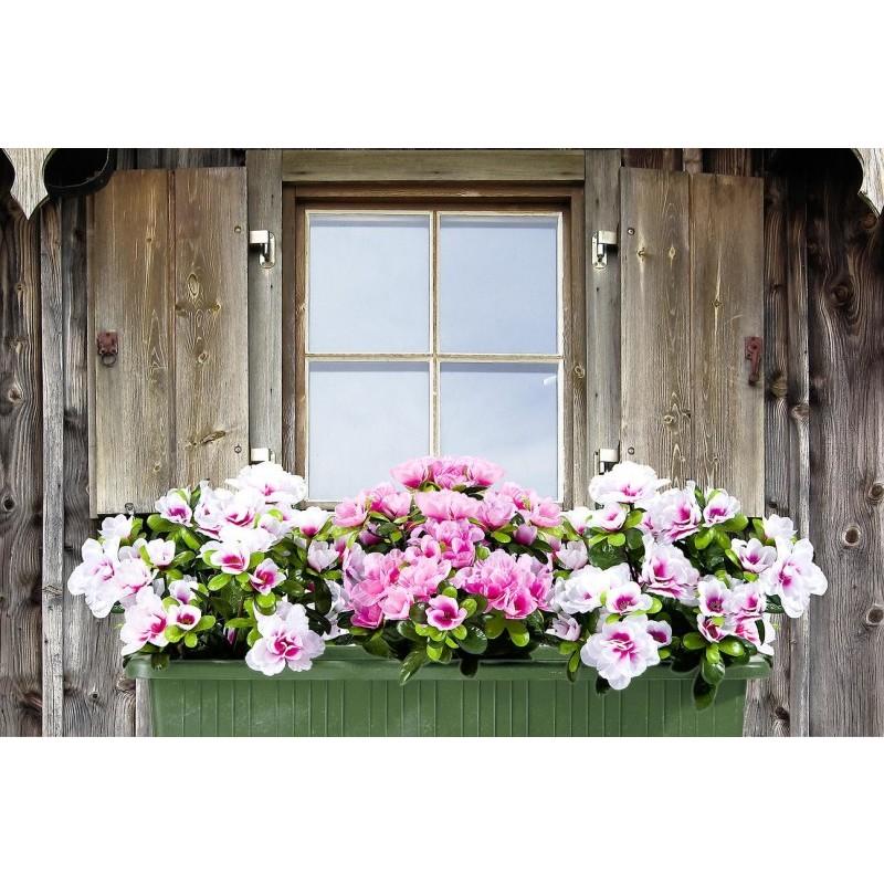 Sztuczne kwiaty Różaneczniki, 3 szt. onerror=