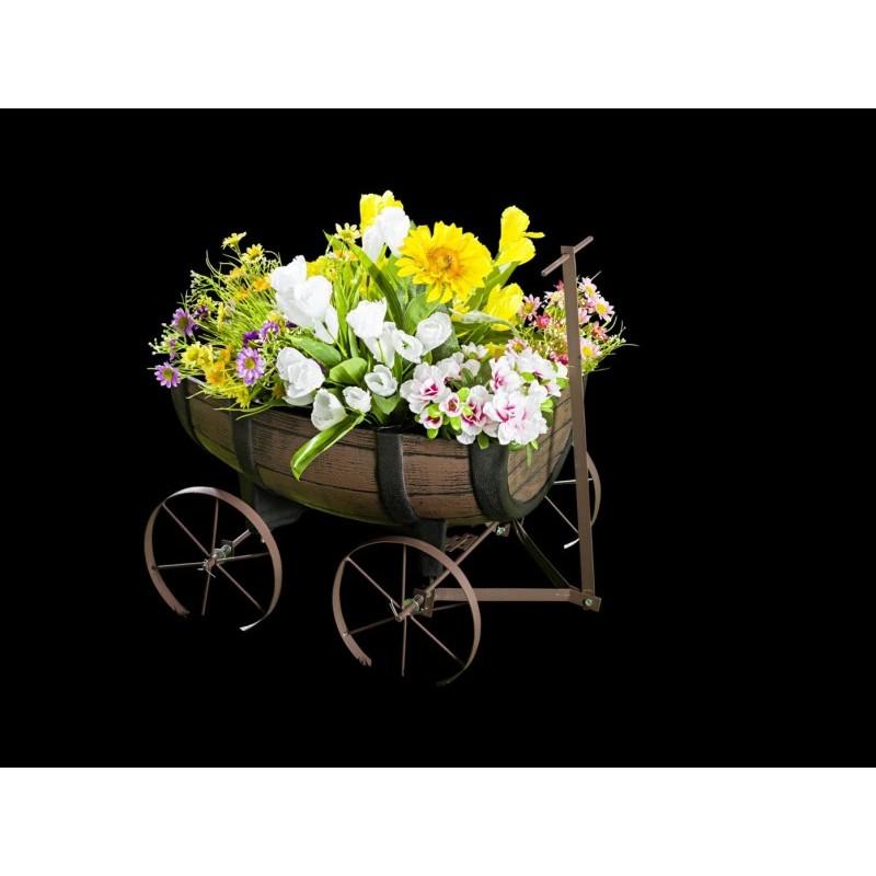 Vozík na květiny onerror=