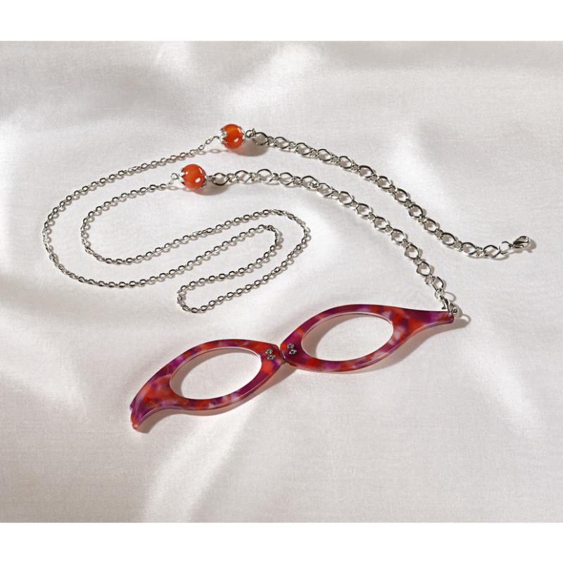 Brýle na čtení s řetízkem onerror=