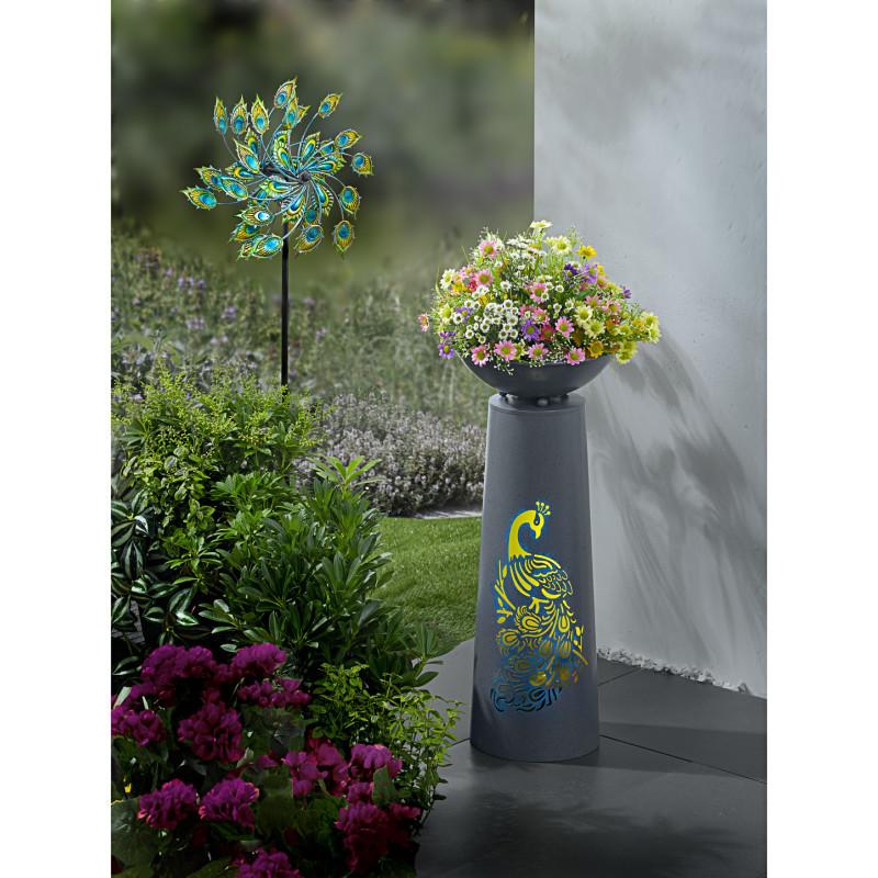 LED stojan na květiny