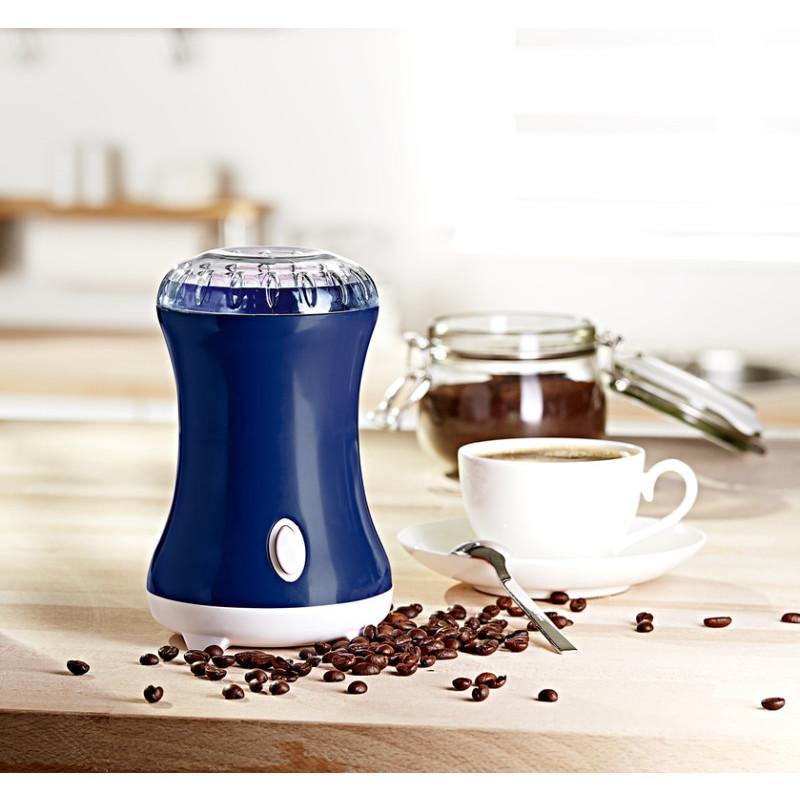 Elektrický mlýnek na kávu onerror=