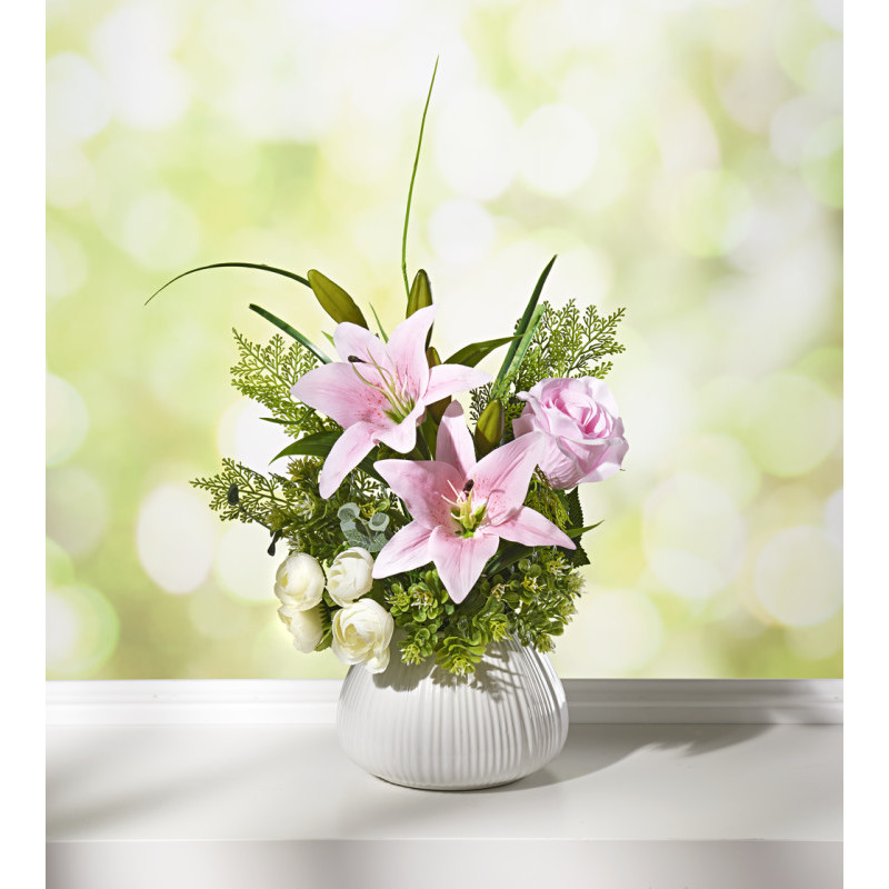 Ozdobne lilie w doniczce onerror=