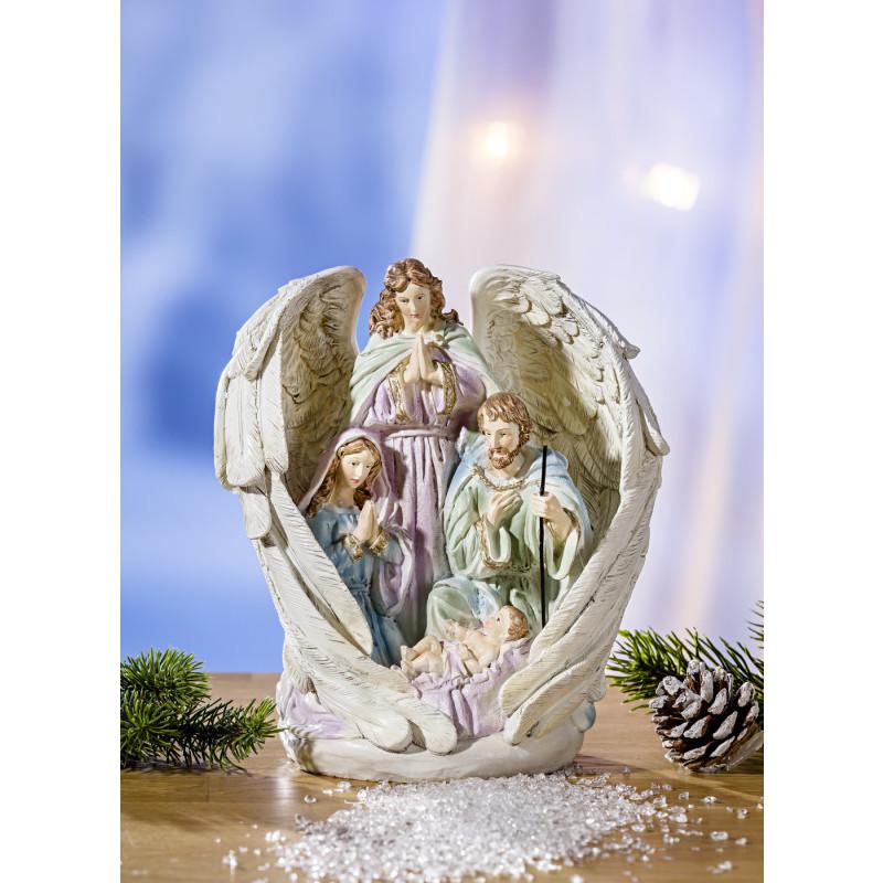 Anjel so Svätou rodinou