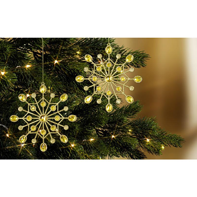 2 hviezdy na zavesenie na strom
