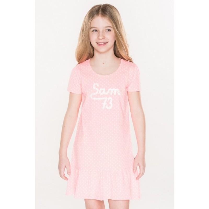 Dívčí šaty s puntíky Sam 73