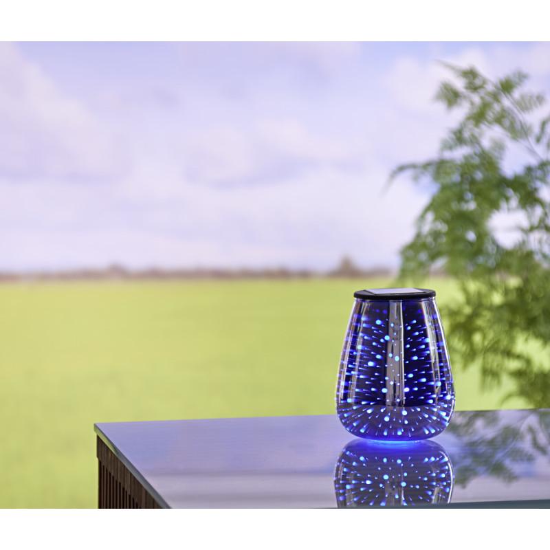 Solárna stolná lampa Pohár