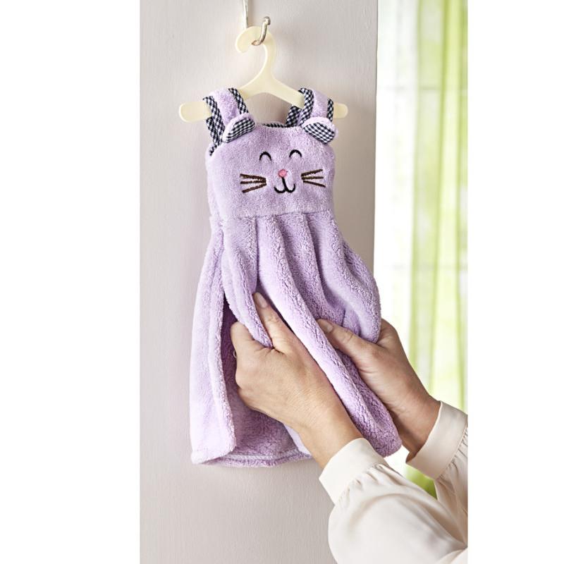 Ručník s držákem Kočka onerror=