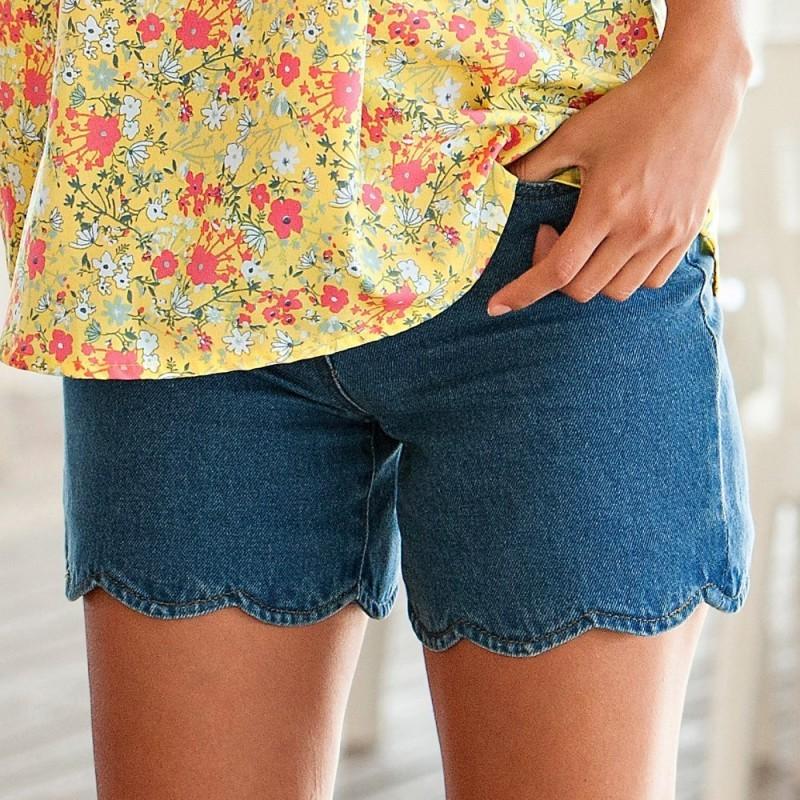 Šortky džínsové