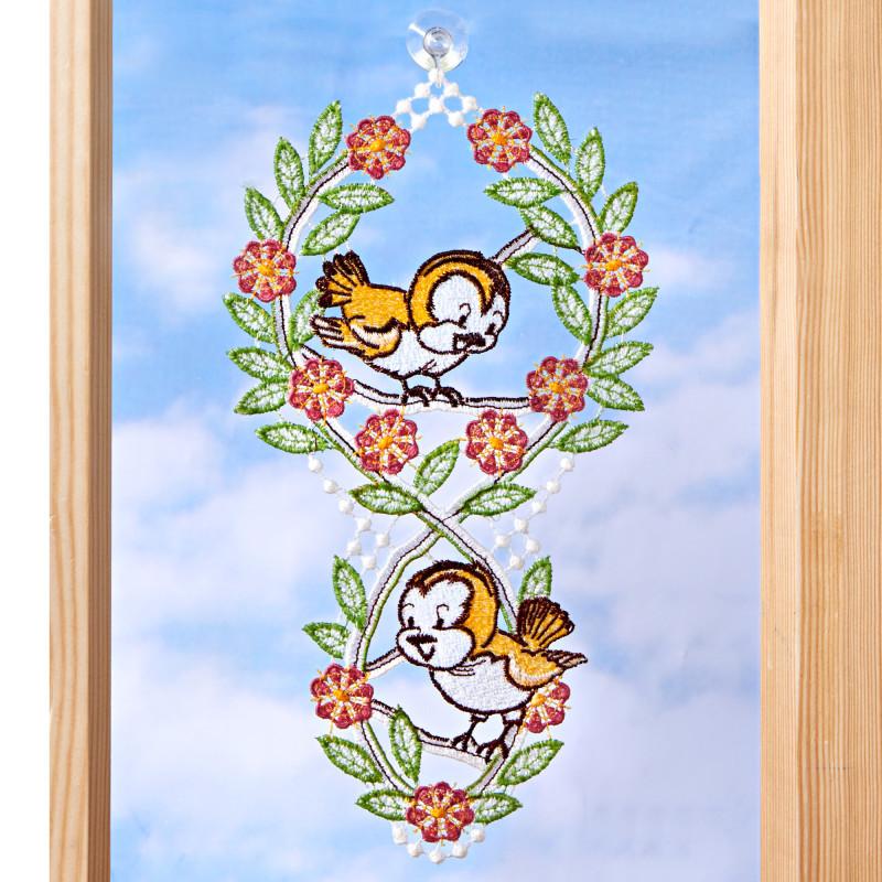 Závěsná textilní dekorace