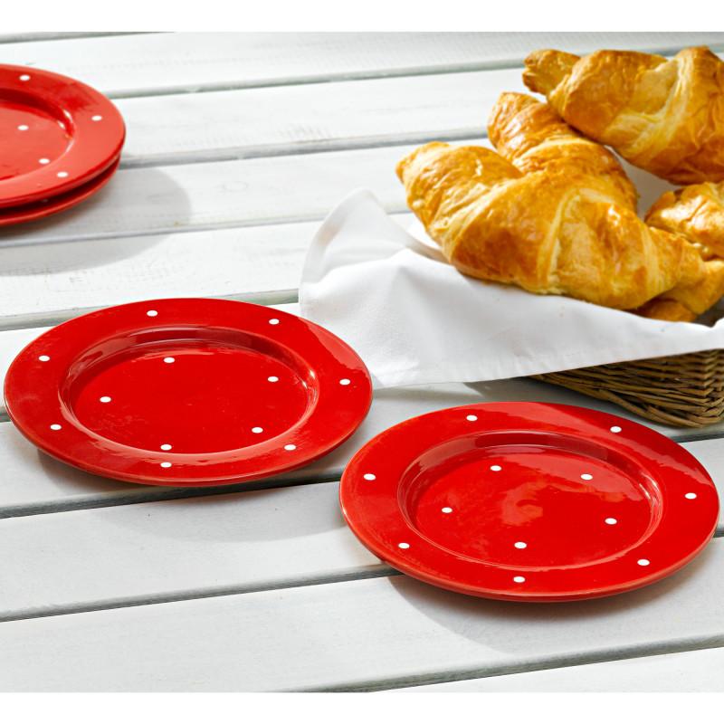 Pöttyös reggelizőtányér onerror=