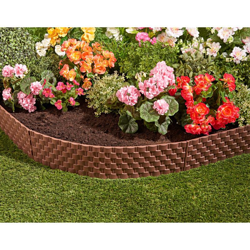 4dílný flexibilní zahradní plot onerror=