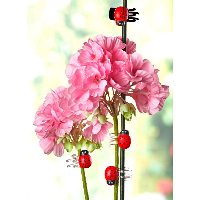 8 klipsů na květiny