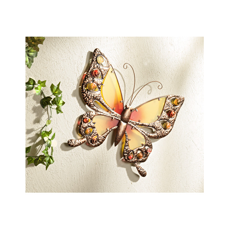 Dekorační motýl onerror=