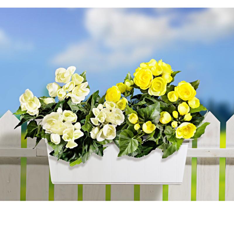 2 kytice do balkónových hrantíkov