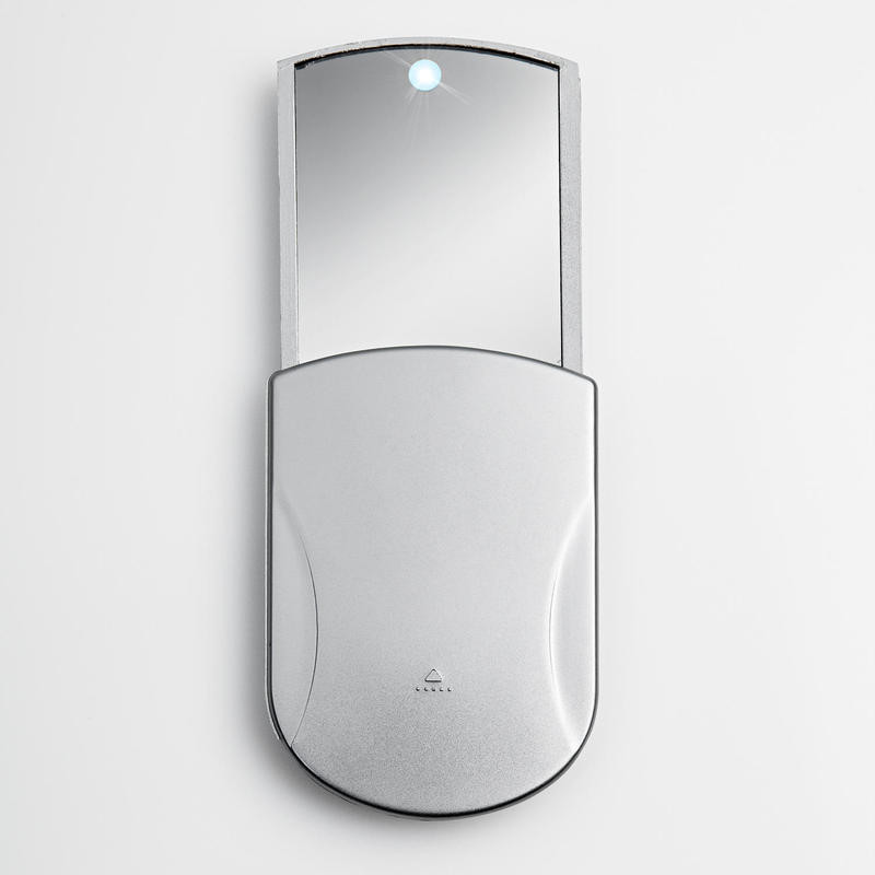 Vreckové zrkadielko s LED svetlom