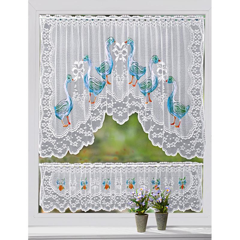 Oblouková záclona