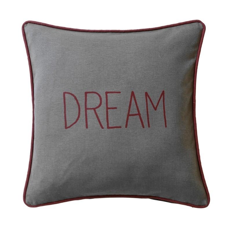 Poszewki na poduszki Dream   Happy 2 sztuki onerror=