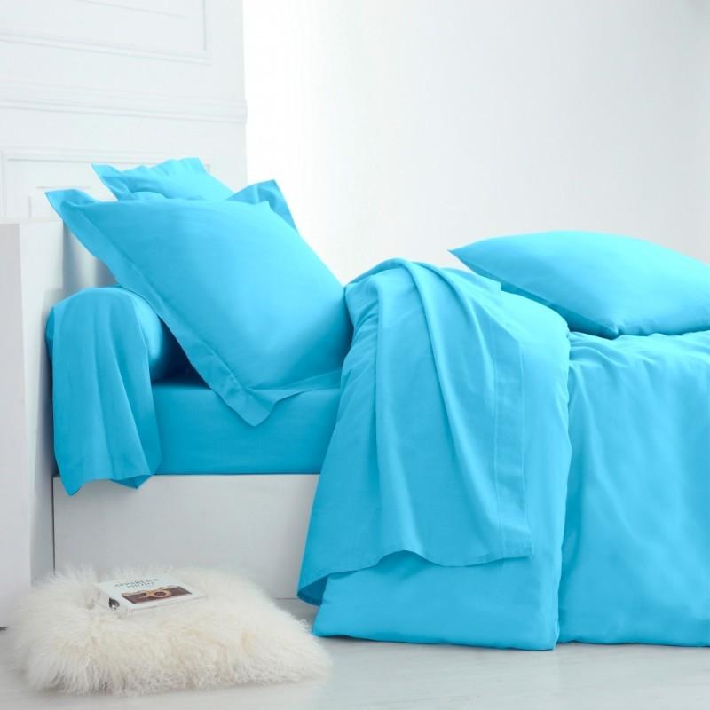 Jednofarebná posteľná bielizeň, polybavlna