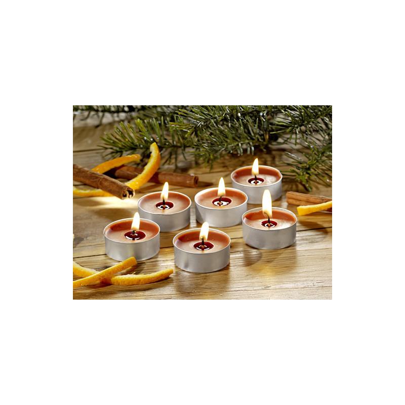 6 vonných čajových svíček onerror=