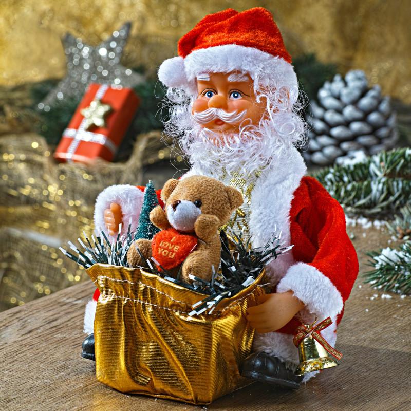 Santa Claus s dárky onerror=