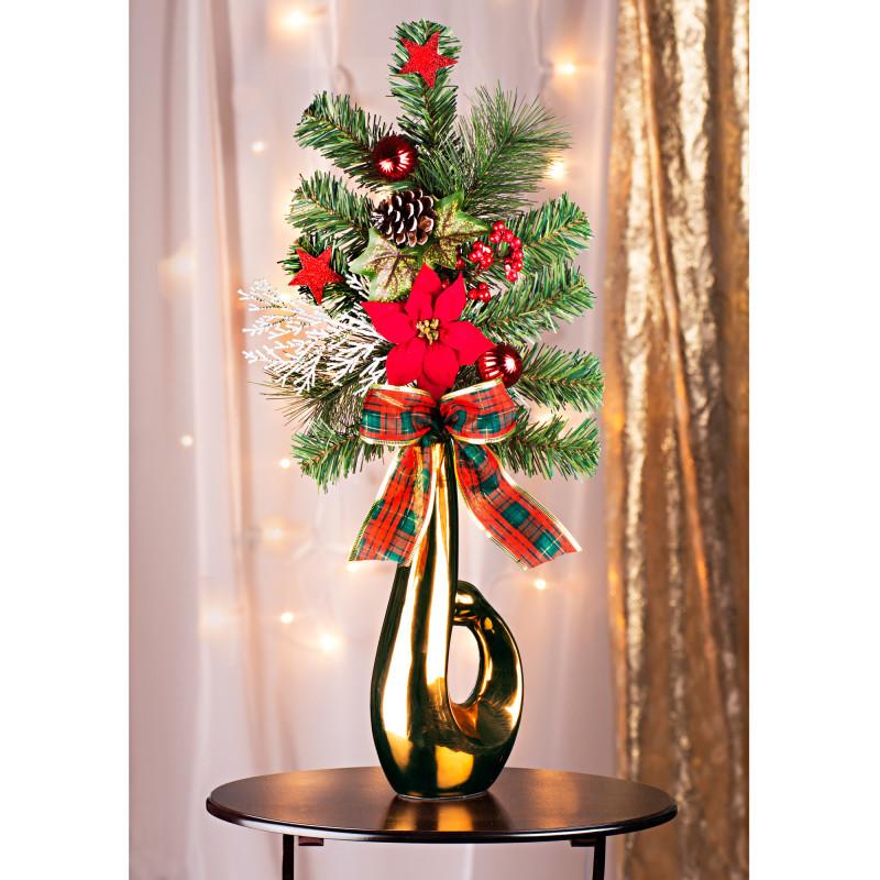 Vánoční kytice onerror=