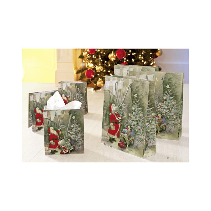 6 darčekových tašiek