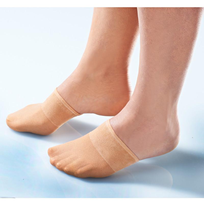 5 párů ponožek - špiček, tělová onerror=