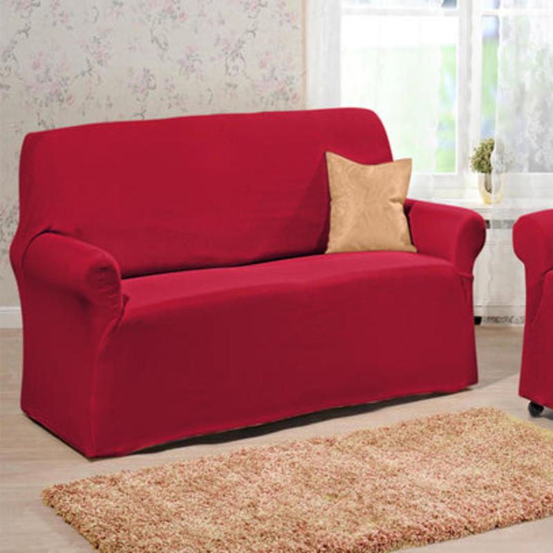 Potah na 2místnou sedačku, červená onerror=