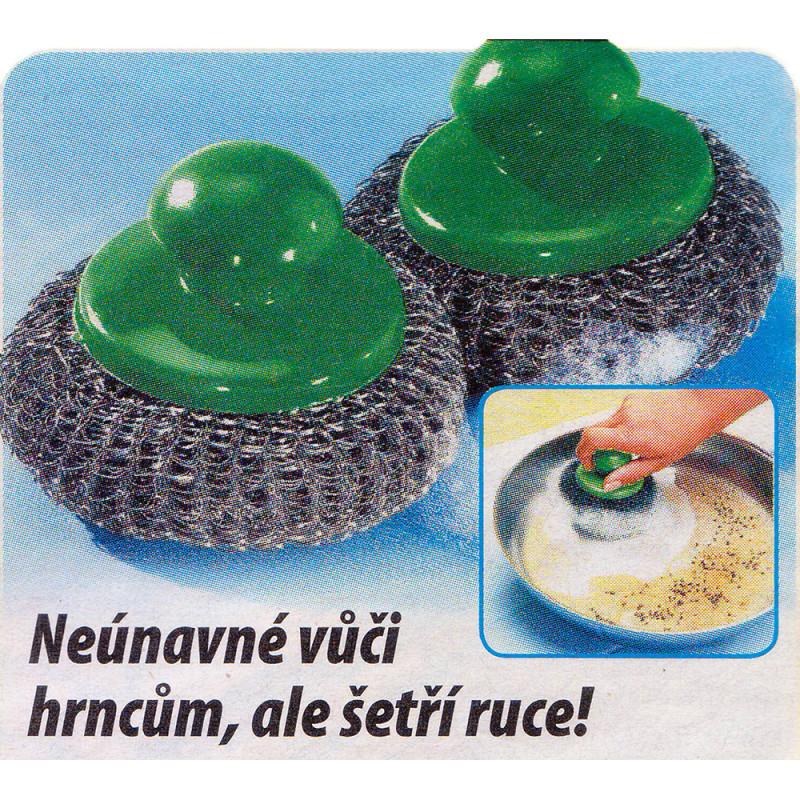 Kovové houbičky 2ks