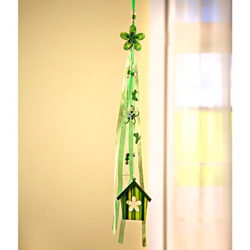 1 závesná dekorácia s domčekom