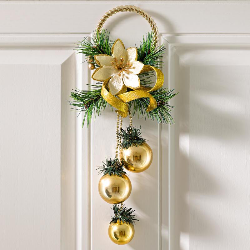 Závesná dekorácia, zlatá