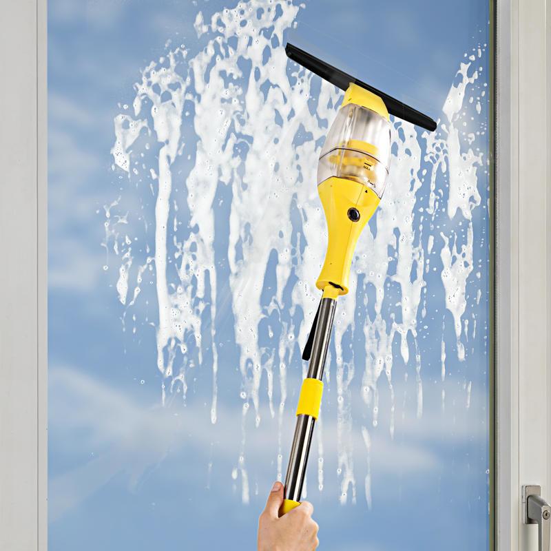 Akumulátorový čistič okien