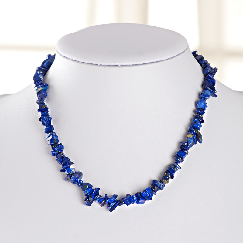 Naszyjnik lapis lazuli onerror=